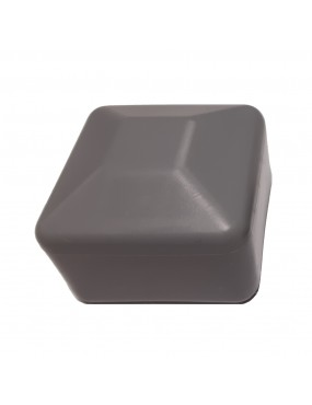 40x40 profile cap grey